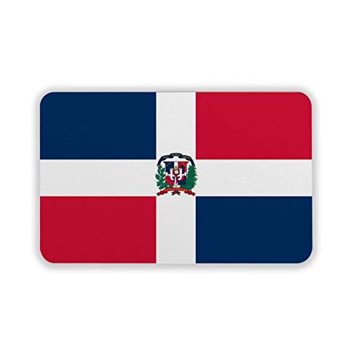 Ayutthaya Badewannenmatte Dominikanische Republik Flagge rutschfeste Badematte für Badezimmer 60 x 39 cm maschinenwaschbar Duschmatte mit Saugnäpfen