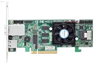 ARECA 6.0Gb/s SAS RAIDカード Dual Core 800MHz PCIe X8、512MB SFF-8087x1/8088x1 LP ARC-1882LP