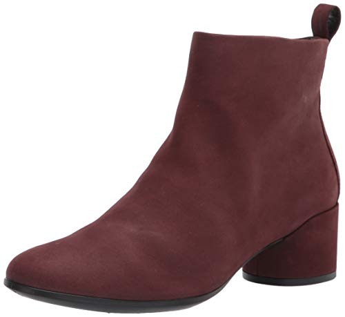ECCO Women's Shape 35 Mod Block Boot Fashion, Chocolat Nubuck, 8-8.5 M US medium