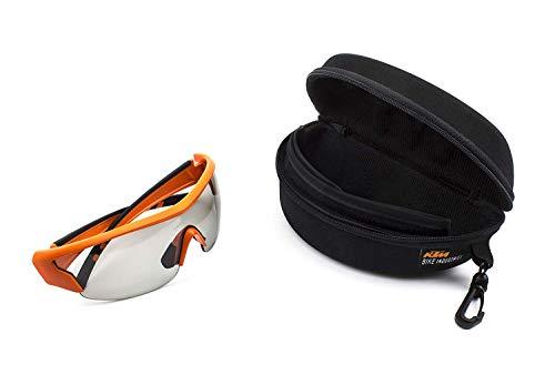 KTM Sonnenbrille Photocromic (selbsttönende Gläser) - 100% UV-Schutz inkl. Hartschalen-Etui