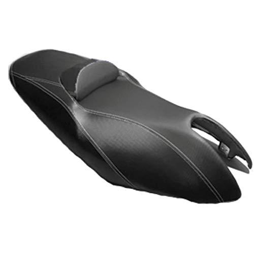 one by Camamoto cod 77662004 funda asiento cubierta de sillìn en color negro/con cojinete negro compatible con yamaha t-max 500 anno 2001-2007
