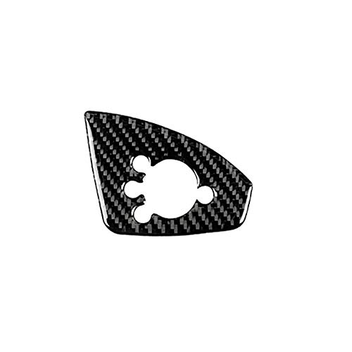 ZHANGDAN Interior del Coche Control de Ventana Interruptor de Elevación Panel Marco Cubierta Pegatinas de Ajuste para Audi TT 2008 2009 2010 2011 2012 2013 2014