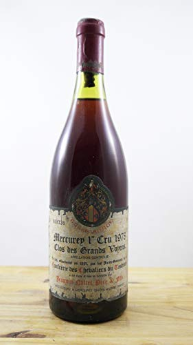 Wein Jahrgang 1978 Mercurey 1er Cru Clos des Grands Voyens Flasche