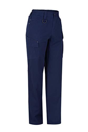 MONZA OBREROL Pantalón Largo De Trabajo Multibolsillos Adulto. Mecanico/Electricista. Color Azul Noche Talla 64-66. Ref: 1131P