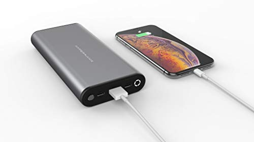 Sanho HyperJuice - Batería Externa 27000 mAh 130 W USB-C PD 3.0 y USB-A QC 3.0