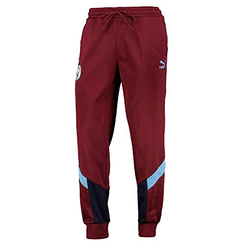 PUMA 2019-2020 - Pantalones de chándal para Hombre (córdoba), English Premier League, Hombre, Color Granate, tamaño XL Adults