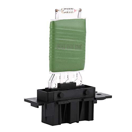 Duokon Resistencia de ventilador de motor de calefacción, kit de regulador de ventilador con arnés de cableado de reparación