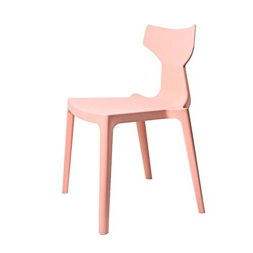 Moderne PP En Plastique À Manger Chaise Designer Chaise Longue Ergonomie 45 * 48 * 77 Cm Assise 45cm