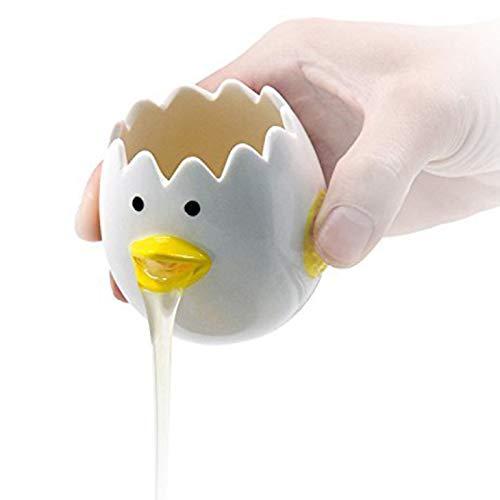 Monkys Séparateur d'oeufs Cuisine Gadget Cuisine, séparateur Blanc de Jaune d'oeuf en céramique de Dessin animé, Fournitures d'outil de Cuisson