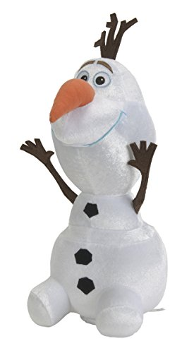 Simba 6315877486 - Frozen Kitzelspaß Olaf Plüschtier, weiß