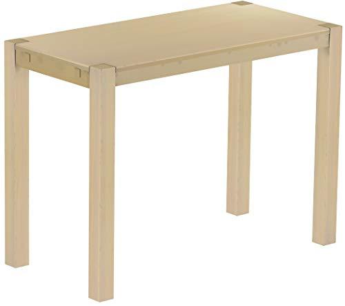 Brasilmöbel Hochtisch Rio Kanto 150x73 cm Birke Bartisch Holz Tisch Pinie Massivholz Stehtisch Bistrotisch Tresen Bar Thekentisch Echtholz Größe und Farbe wählbar