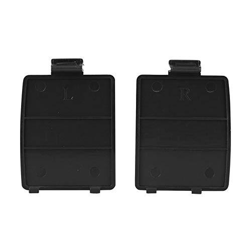1 Paar Ersatz-Batteriefachdeckel für Sega Gamegear Console für SEGA GG - Schwarz