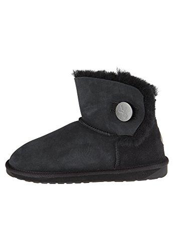 EMU Australia Denman Mini, Bottes Classiques Femme, Noir (Black W11255), 7 EU