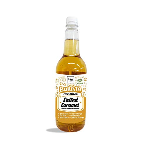 The Skinny Food Co. Barista Zero Calorie Syrup, Salted Caramel, 1000ml