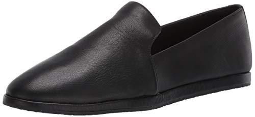 Aerosoles womens Hempstead Loafer Flat, Black Leather, 8.5 US