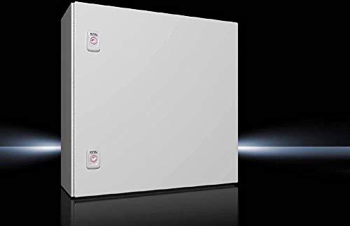 Rittal AX 1050.000 Schaltschrank 500 x 500 x 210 Stahlblech Lichtgrau (RAL 7035) 1St.