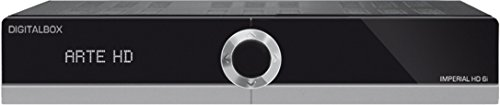 Imperial HD 6i Satelliten-Receiver (HDTV, HDMI ,USB, PVR Ready, Ethernet, Mediaplayer, Web-TV, Satelliten>IP, Multistreaming, Webportal) schwarz