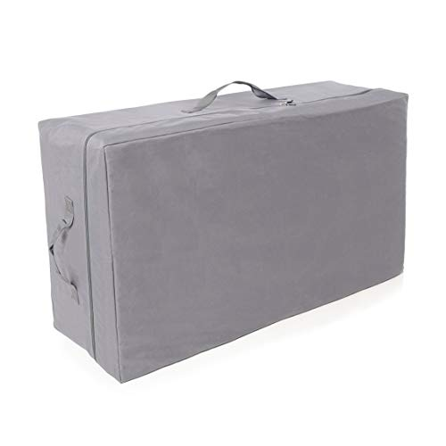 Milliard Carry Case for Tri-Fold Mattress, Fits up to 6 inch Full (52 inches x 24.5 inches x 18 inches)