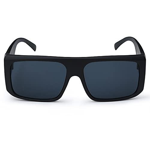 AMFG Hombres Y Mujeres Piernas De Espejo Ancho Gafas De Sol Multicoloras Equitación Al Aire Libre Ocio Gafas A Prueba De Viento (Color : E)