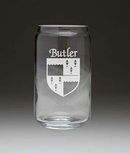 Butler Minneapolis Chicago Mall Mall Irish Coat of Arms Beer Set - Can Glass 4