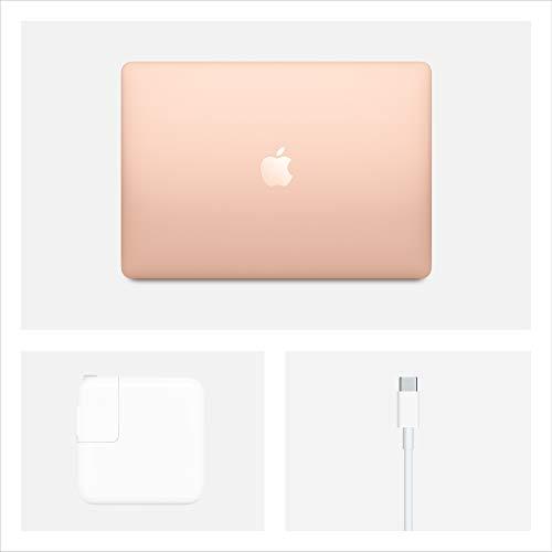 最新モデルAppleMacBookAir(13インチPro,1.1GHzクアッドコア第10世代のIntelCorei5プロセッサ,8GBRAM,512GB)-ゴールド
