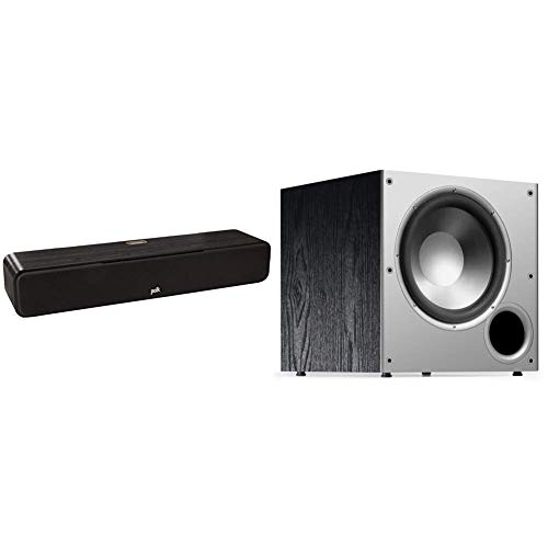 Discover Bargain Polk Audio Signature Series S35 Center Channel Speakers for Home Theater, Surround ...