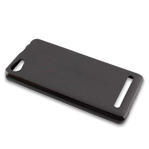 caseroxx TPU-Hülle für Archos 45b Neon, Handy Hülle Tasche (TPU-Hülle in schwarz)