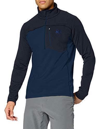 MILLET Seneca Tecno Zip M Fleece Jacket, Mens, Orion Blue, S