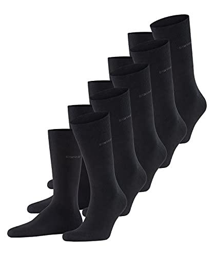 ESPRIT Herren Uni 5-Pack M SO Socken, Schwarz (Black 3000), 40-46 (UK 6.5-11 Ι US 7.5-12)