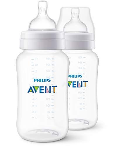 Mamadeira Clássica 330 ml com 2 Unidades, Philips Avent, Transparente