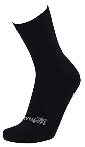 Rywan Polaire Chaussette Wasserabweisende Outdoor Winter Socken, Black, 44-46