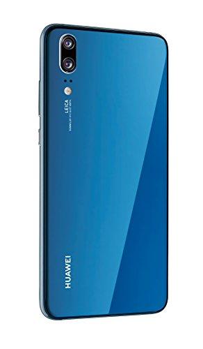 Huawei P20 Smartphone (14,7 cm (5,8 Zoll), 128GB interner Speicher, 4GB RAM, 20 MP Plus 12 MP Leica Dual Kamera, Android 8.1, EMUI 8.1, Dual SIM) Midnight Blue (West European Version) - 6