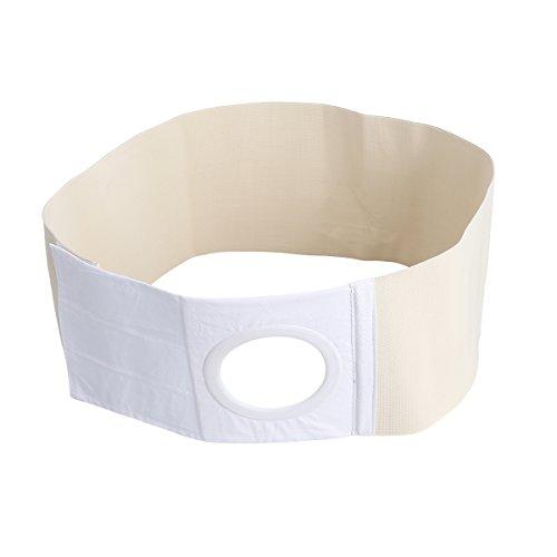 Supvox Stomagürtel Stoma Bandage Gürtel Nabelbruchbandage Nabelbruchband Taillentrimmer Bauch Stützgürtel für Bauchnabel zur Schmerzlinderung nach Kolostomie Ileostomie Hernie - Größe XL