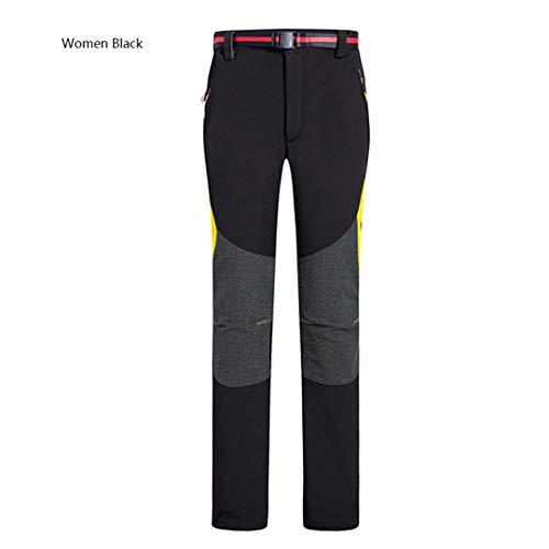 Drying Den Pantalon Softshell en Molleton en Plein air en Hiver pour Femmes Women Gray S