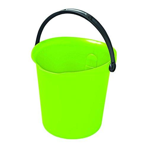 Curver  -  Cubo de Limpieza Urban 9L. con Asa - Color Verde Lima