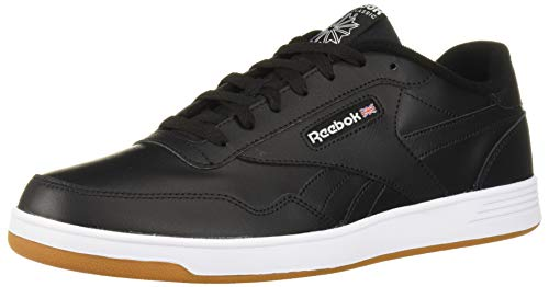 Reebok Men's Club MEMT Sneaker, Black/White, 11