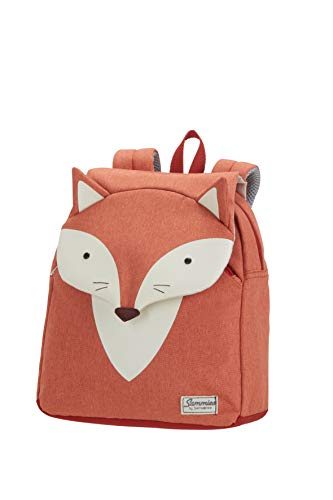 Samsonite Happy Sammies - Sac à Dos Enfant S, 28 cm, 7.5 L, Orange (Fox William)