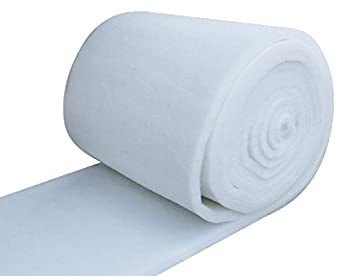 IZO All Supply Bonded Dacron Upholstery Grade Polyester Batting 48 Inch Wide  5 yards