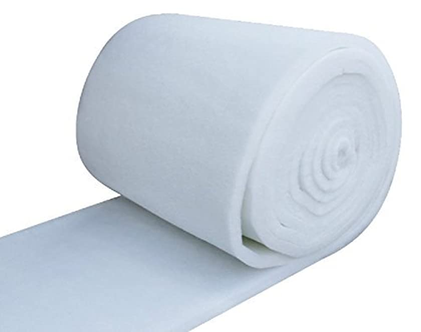 IZO All Supply Bonded Dacron Upholstery Grade Polyester Batting 48 Inch Wide (5 yards)