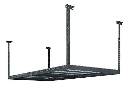 NEWAGE PRODUCTS VersaRac Gray 4' x 8' Adjustable Garage Overhead Rack, 40151