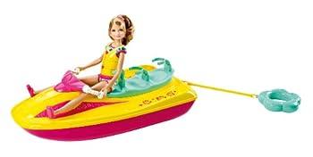 Barbie Sisters Jet Ski and Stacie Doll Set