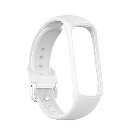 ExH Cinturini di ricambio, cinturino in silicone morbido compatibile per Samsung Galaxy Fit 2 R220 Sostituzione cinturino sportivo smart watch