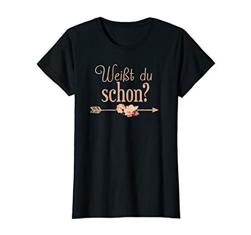 Große Schwester 2021 Weißt du schon Werdende Schwester T-Shirt