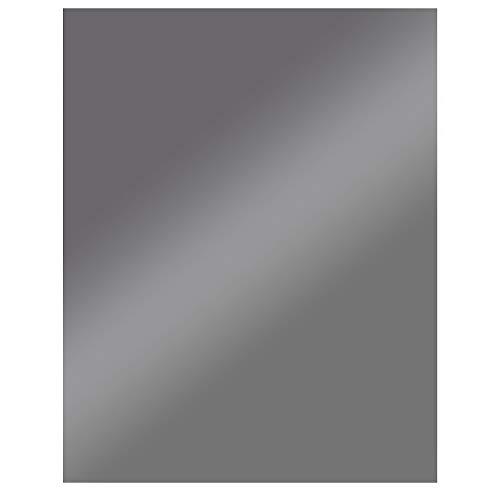 FIREFIX 1556/1DG Stahlbodenplatte (Hitzeschutz Ofen), Rechteck-Bodenplatte (900 x 1.050 mm), 2 mm Starkes Stahlblech, Lackierung Senotherm UHT-Hydro-dunkelgrau