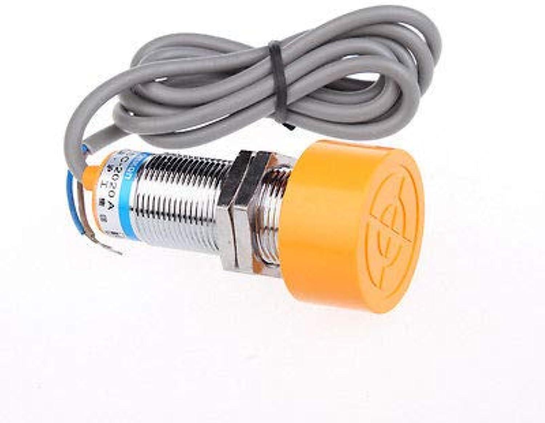 1pcs SC-2020A 90-250VAC 400mA NO 2 Wires 20mm Inductive Sensor Proximity Switch