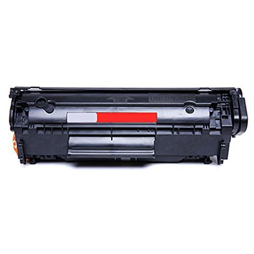 UKKU Compatible para HP 12A Cartucho de tóner Laserjet, Utilizado para HP 1010 1015 1020 1022 MFP1018 HM1005 3015 3020 3030 3050 3052 3055 Impresora Black Office Products Black
