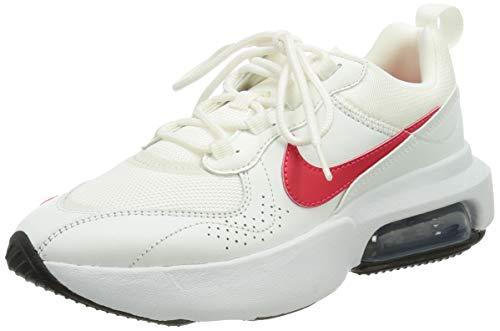 Nike W Air MAX Verona, Zapatillas para Correr Mujer, Summit White Siren Red Black White Mtlc Silver, 38 EU