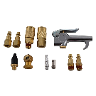 Husky 13-Piece Brass Air-Compressor Accessory Kit-HDA51300AV - The Home Depot