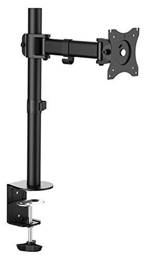 RICOO TS5611, Bildschirm Tisch-Halterung Schwenkbar, 12-30 Zoll Schreibtisch Monitor-Ständer, VESA 75x75 100x100