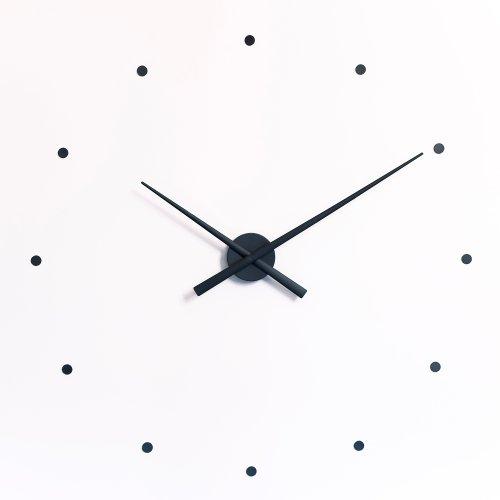 Horloge Murale OJ Noir 50 CM Design Moderne